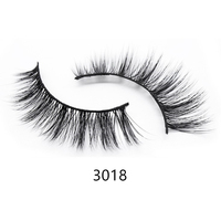 2019 new style Wholesale premium 3 Pairs silk lashes 3D faux mink lashes custom packaging box