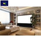 XYSCREEN Floor Rising Commercial Portable Electric Projector Screen Home Theater Intelligent Motorized Projection Screen