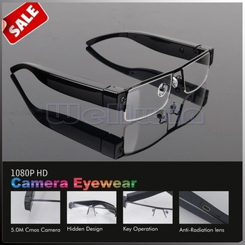 263b056d84 Wellwin 1080P Full HD Clear Reading Glasses with a Hidden Camera V13 ...