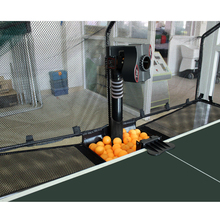 China Factory Mini Smart Table Tennis Machine with Remote Control for Sale