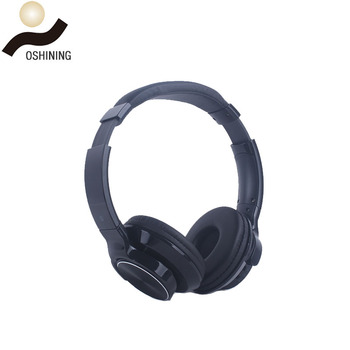 Long Distance Stereo Bt Wireless Headset Lithium Battery