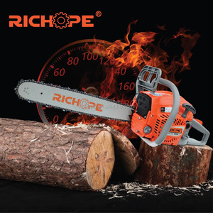 Long bar new design 50cc chinese prokraft chainsaw for log cutting