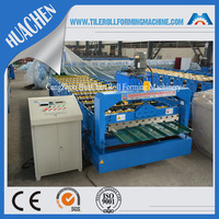 Decorative Metal Roof / wall plate roll forming machine