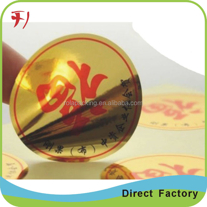 Wholesale price high quality promotional harmless plastic coated condom packing aluminum foil sticker