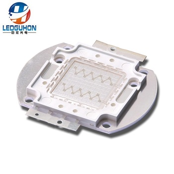 make high power COB 20W blue led with Z1C copper frame