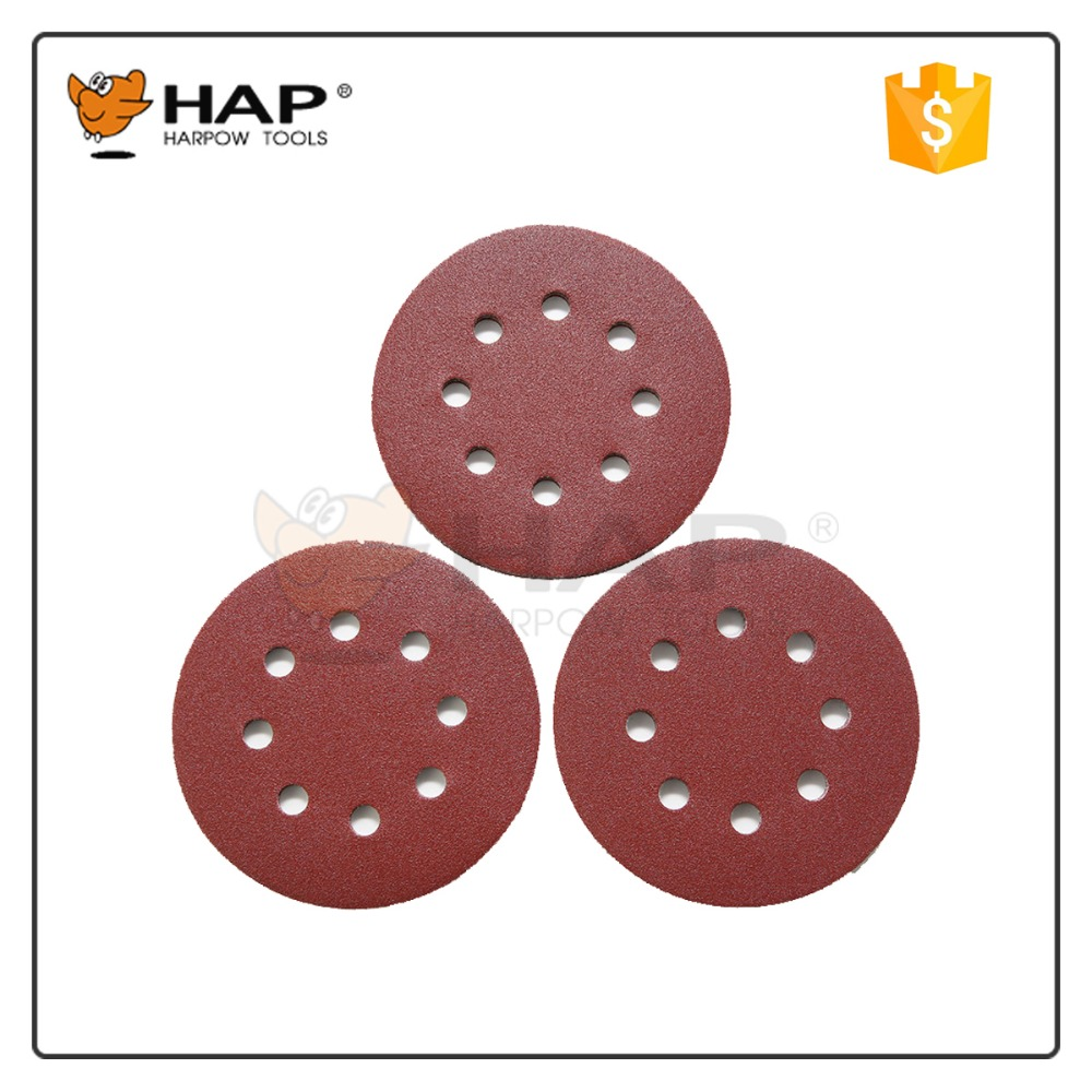 Good quality sandpaper for wood polishing Hook And Loop sanding paper