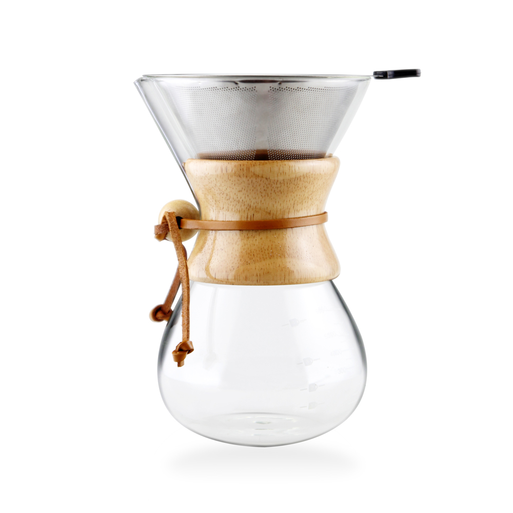 glass pour over coffee maker ,driper pour over coffee kettle