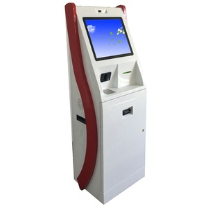 19 inch self service atm machine payment kiosk with bill accepter/printer thermal for sale