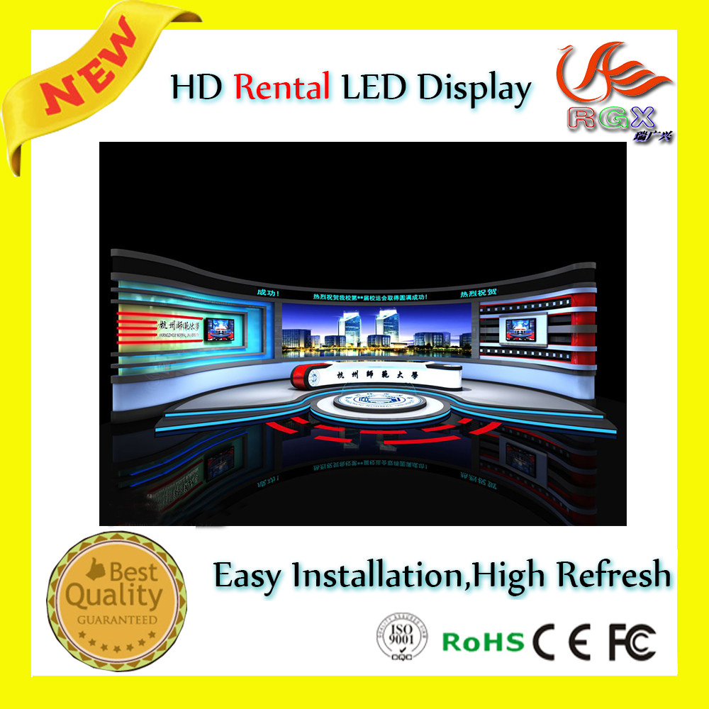 RGX P4 Indoor rental led display full color,Super Slim, Aluminium frame for rental usage