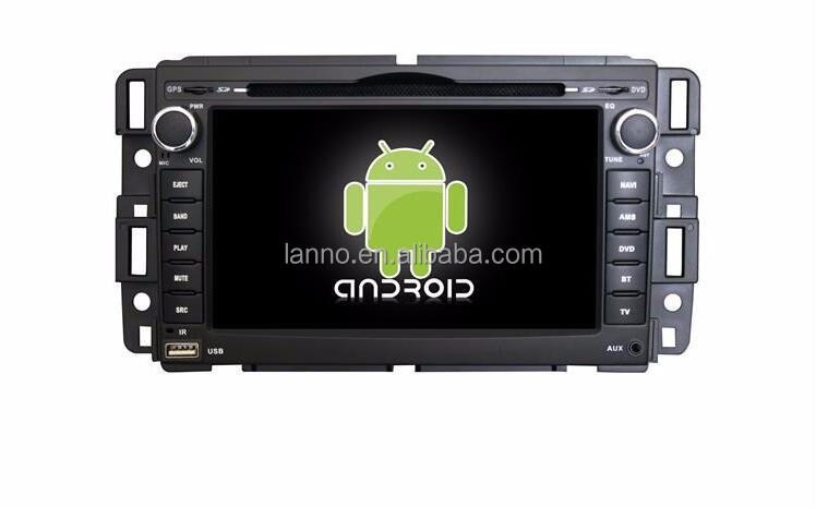 Factory 7'' Android Car DVD Player Display for GMC Touch Screen 2 DIN Core CUP in Dashboard support 3G/WIFI,Radio, GPS