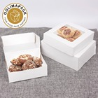 DISPOSABLE KRAFT PAPER CAKE BOX,bakery boxes,cute paper cake box