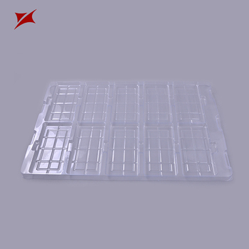 Pet Material Disposable Plastic Tray
