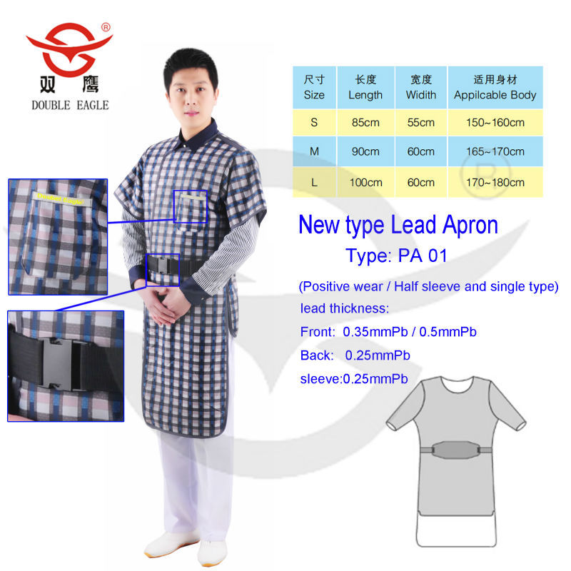 Medical X-ray Protective Aprons Radiation Protection Cloth Chinese ...