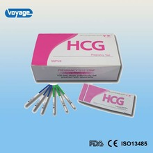 2016 New accurate one step HCG pregnancy test strip for hospital