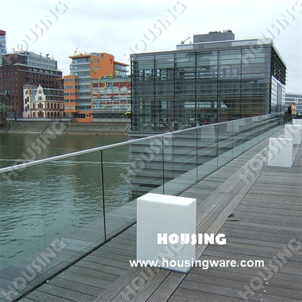 Frameless Glass Railing With Aluminium U Channel And Stainless ...