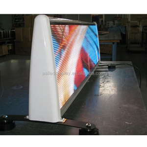 p5 mm taxi led display / taxi top led display/ led top car roof display screen for advertisement