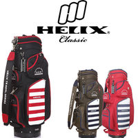 Helix 2015 sunday bag with wheels / golf gun bag with wheels / golf packing bag with wheels