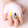Beauty sticker nail design marker cartoon nail art designs pictures Neon color sticker