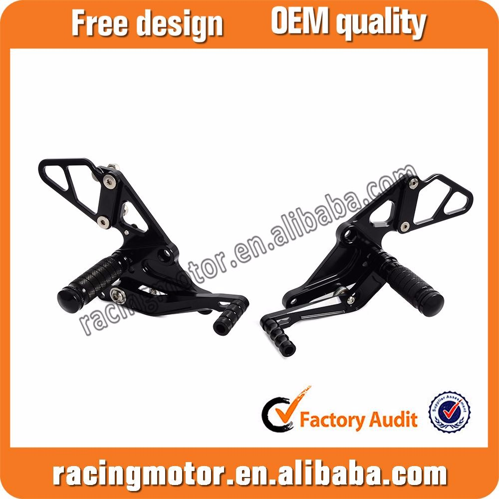 CNC Rearset Foot Peg Rear Sets for Yamaha MT-07/FZ-07 2013-2014 2015 2016