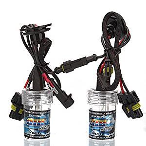 TOOGOO(R) 2 X Car H1 Front Light Headlight White Xenon HID Bulb 35W 6000K