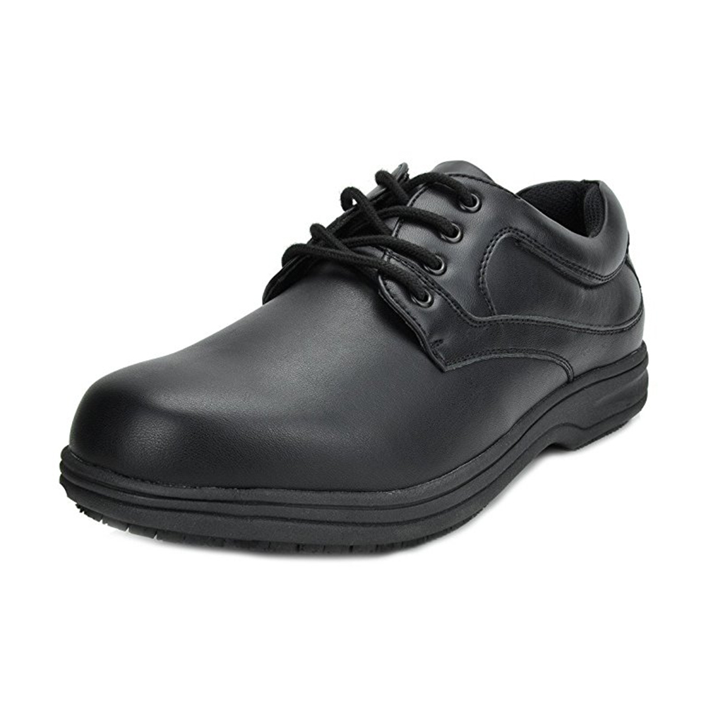 Work Shoes Men Safety Toe Shoes Office