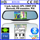 2015 FM Wifi 5.0 Inch Screen 1080P DVR Bluetooth Android Rearview Mirror For Volvo S40 Car GPS Navigation