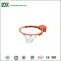 Hottest elastic basketball ring metal basketball net