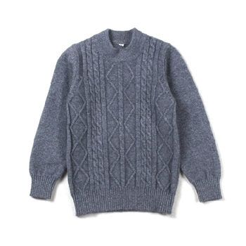 7957630f23ce P18B036CH organic kids clothing children 100% cashmere cable knit sweater  pullover for boys