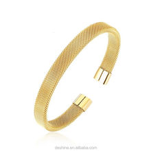 Wholesale Stainless Steel Mesh Sexy Bangle