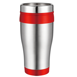 hot saleinsulated auto tumbler double wall plastic travel mugs