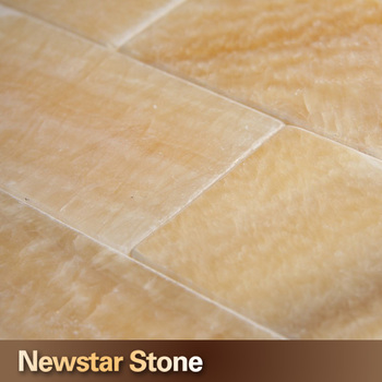 Natural Stone Floor Honey Onyx Marble Tiles Prices