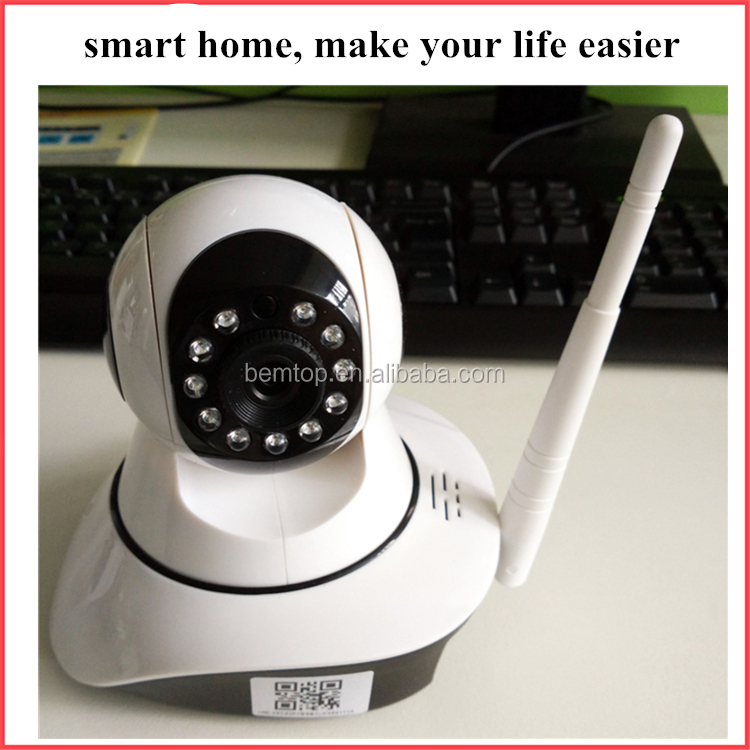 Smart Zigbee Camera 1MP 720P HD 32 GB SD card with Remote Control by Android / IOS Support Voice Monitor , intercom and 15m IR