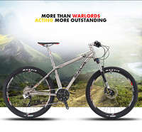 27.5'' special titanium Alloy frame Mountain Bike 30 Speed with M315 disc brake