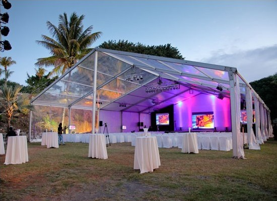 New Design Wedding Party Event Marquee Pvc Transparent