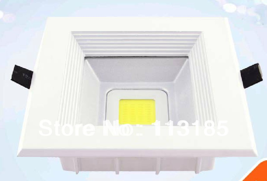 Epistar 10W COB LED Downlight 1000LM CE&RoHS 3 Years Warranty LED COB Ceiling Lamp DHL Free Shipping
