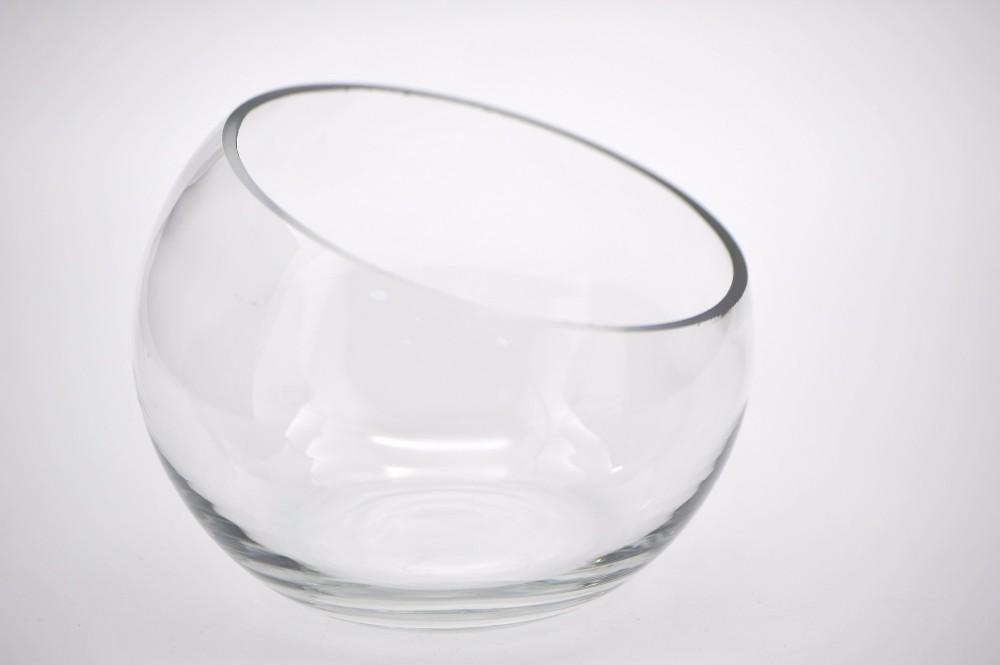 biseau clair oblique bouche vases en verre pas cher buy. Black Bedroom Furniture Sets. Home Design Ideas