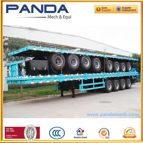 Top sale 45ft container semi-trailer,container transport chassis