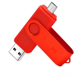 oem custom swivel metal otg 16gb usb flash drive