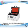 2016 New auto air lock LY 888D non-bolts all in one OCA vacuum laminator hard to hard type OCA laminator for 13 inches