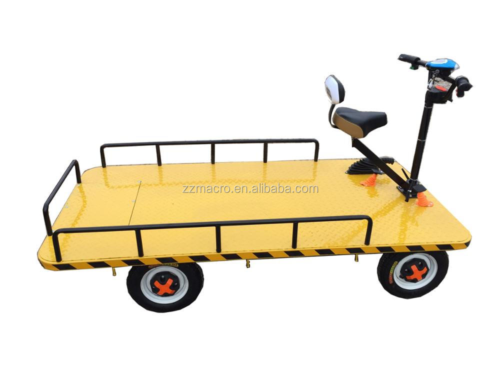 Chinese Manufacture Hand Truck Electric Heavy Duty Trolley