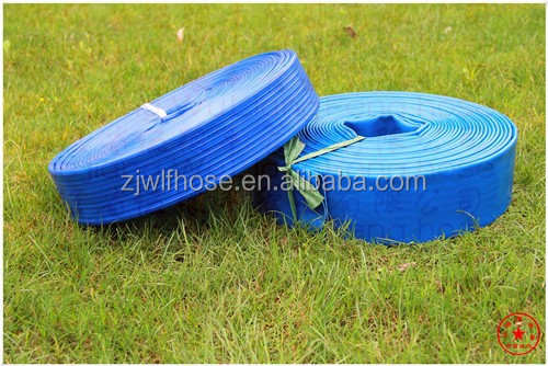 Water Hose / Layflat Discharge /6''/ irrigation system/High pressure/<strong>PVC</strong>
