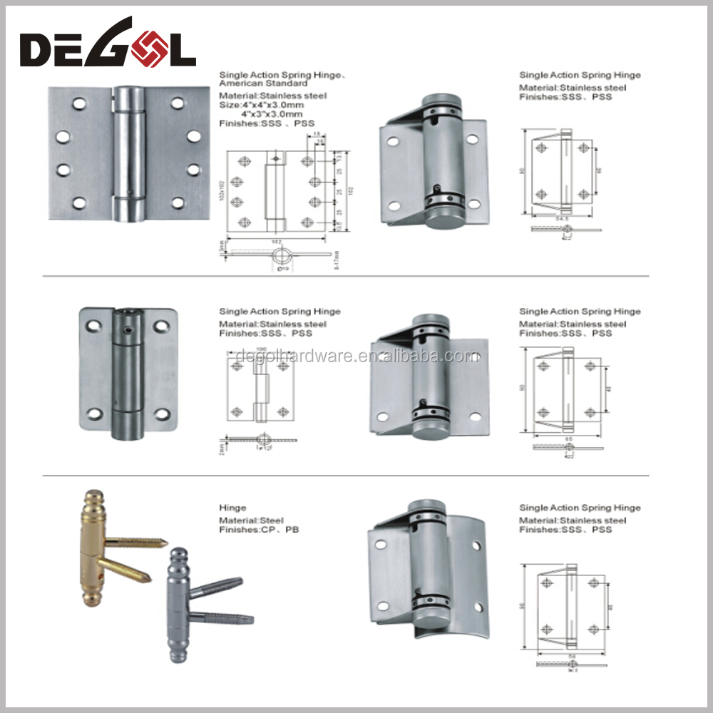 Top quality steel magnetic door hinges