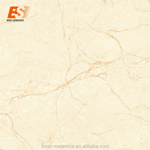 Foshan factory wholesale 60*60cm non slip glazed polished porcelain material ceramic floor tile