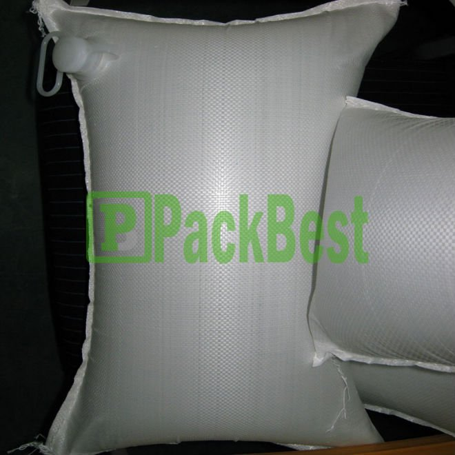 China Paper Laminated PP Woven Bag With Quick Fill Valves For Fast Fill & Deflation