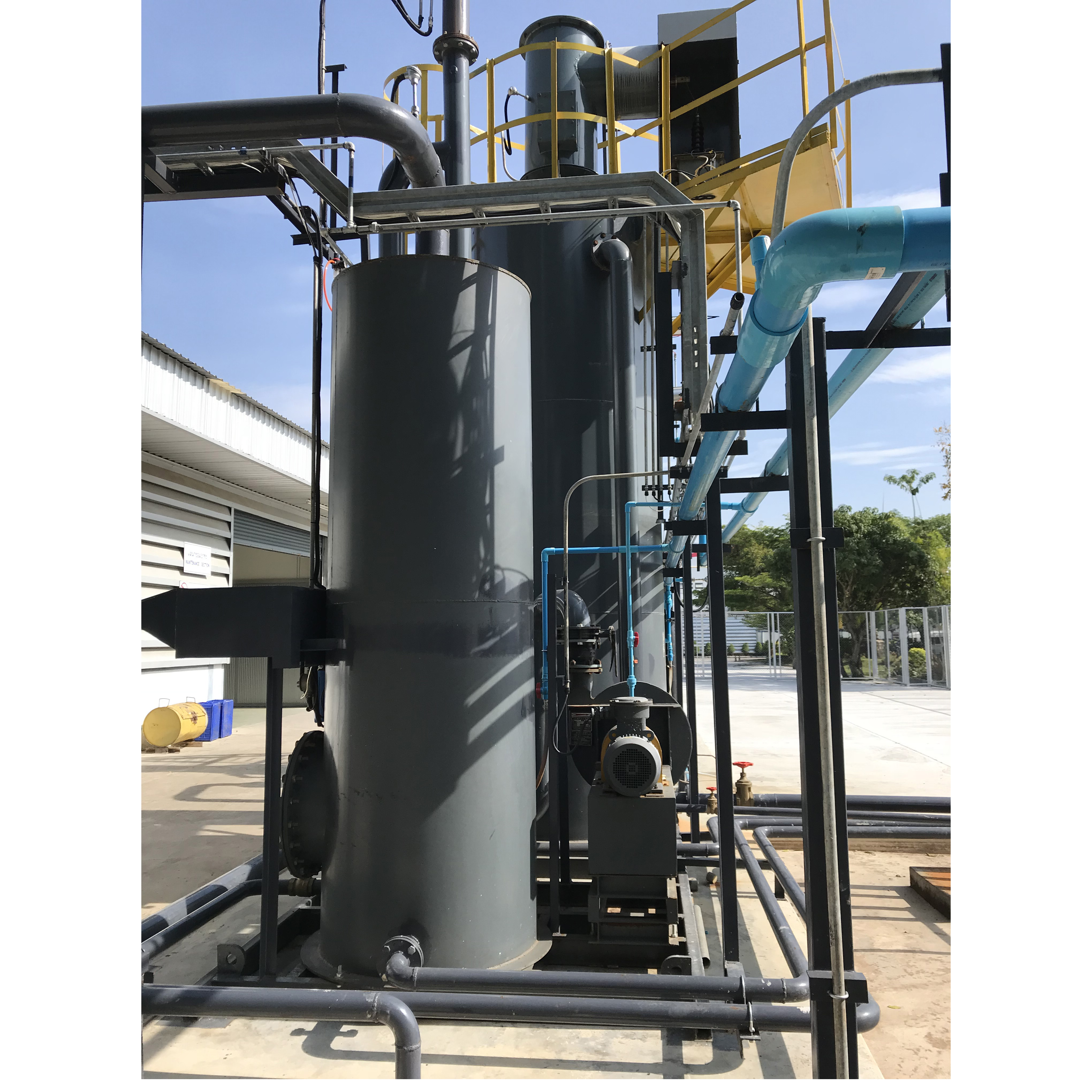 small scale 500kw biomass gasification power plant using Sewage sludge as fuel