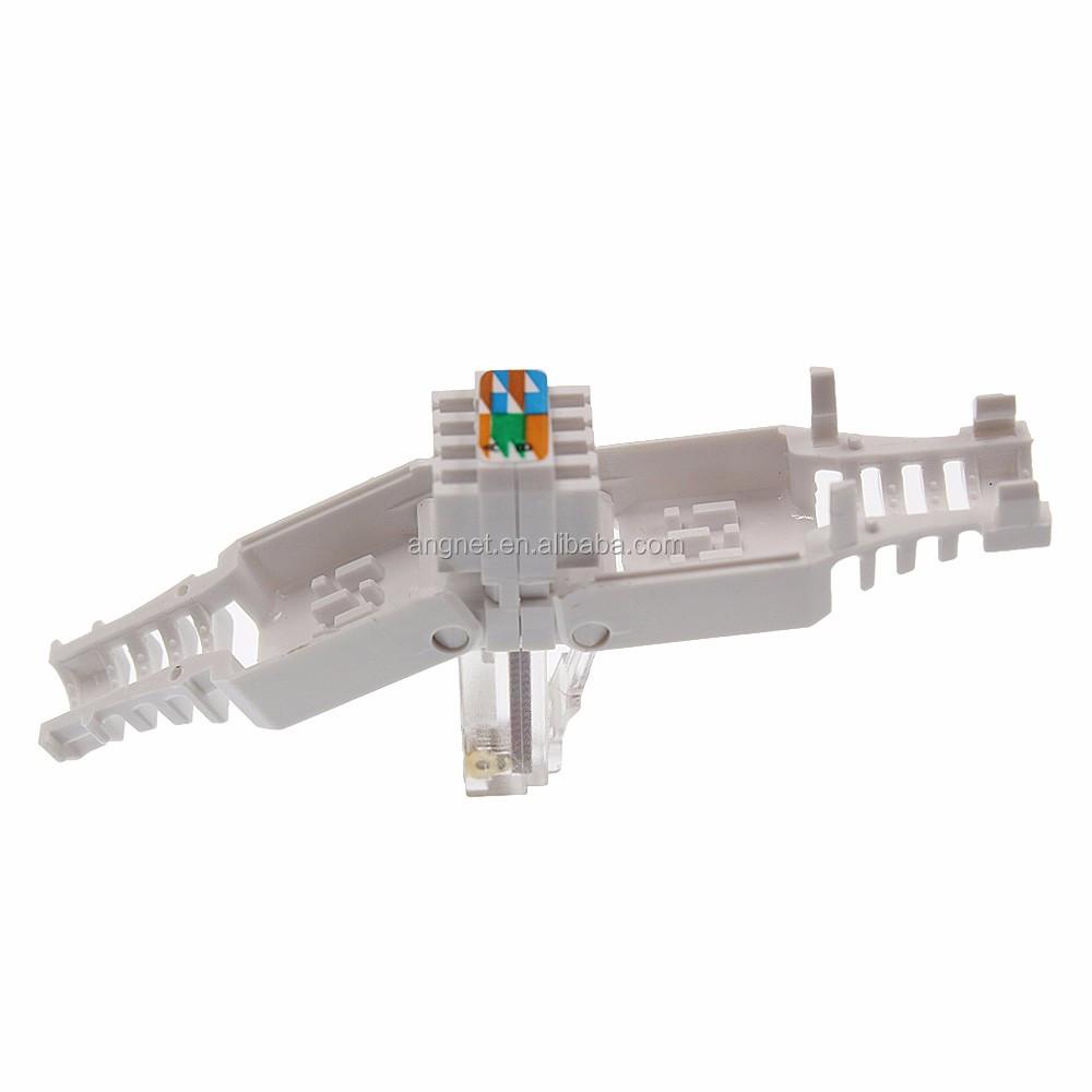 8p8c Rj45 Toolless Cat6 Modular Connectors Plugs For Cat6