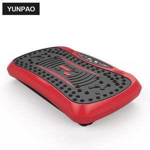 Weight lose power fit gym vibration plate fitness machine