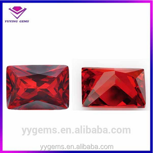 alibaba express rectangle garnet cz stone jewelry tools