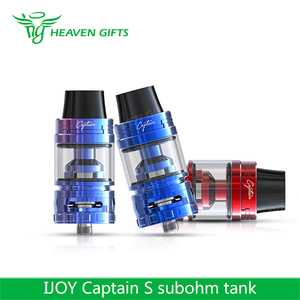 100% Authentic 4ml IJOY Captain S Subohm Tank vaporizer pro