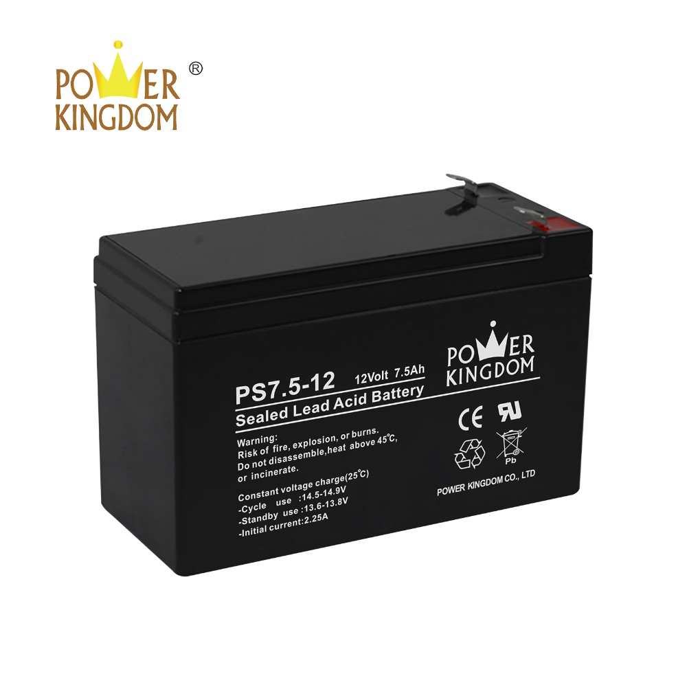 Power Kingdom 105ah agm deep cycle battery wholesale wind power systems-6